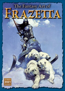 Kalendář The Fantasy Art of Frazetta 2021